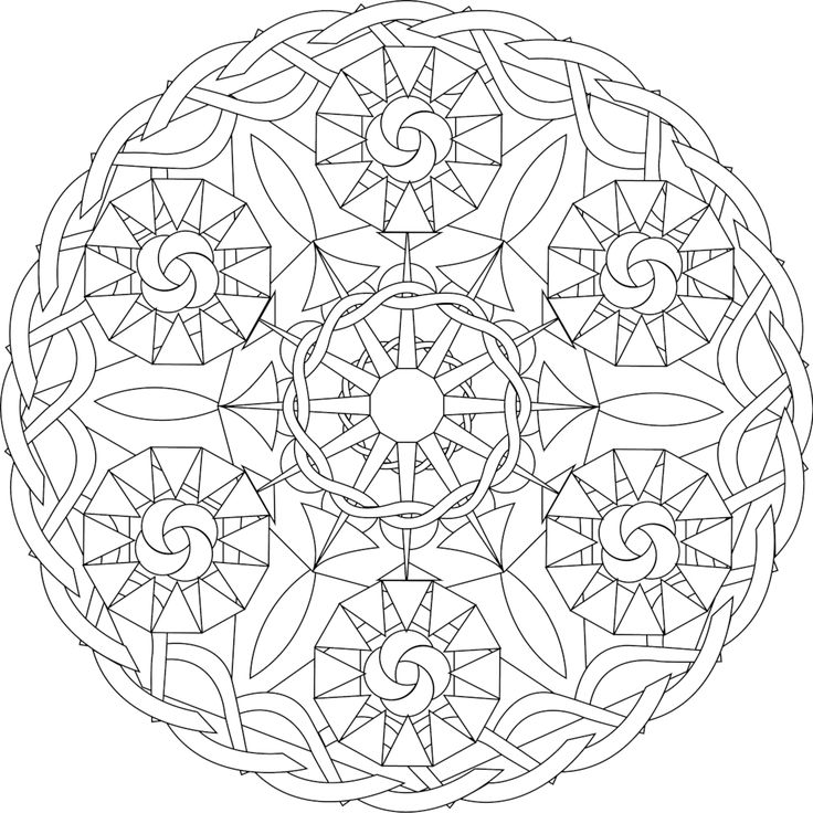 736x736 169 Best Printable Mandalas To Color
