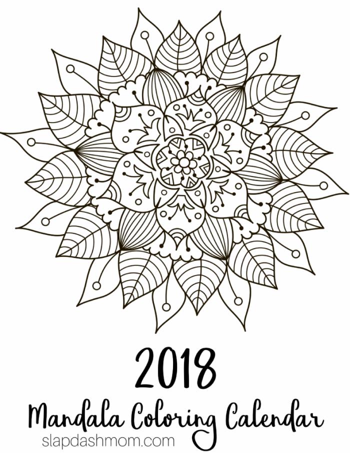 700x906 Free Printable 2018 Calendar