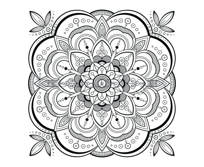 700x573 Meditation Coloring Pages These Printable Mandala Art Exhibition