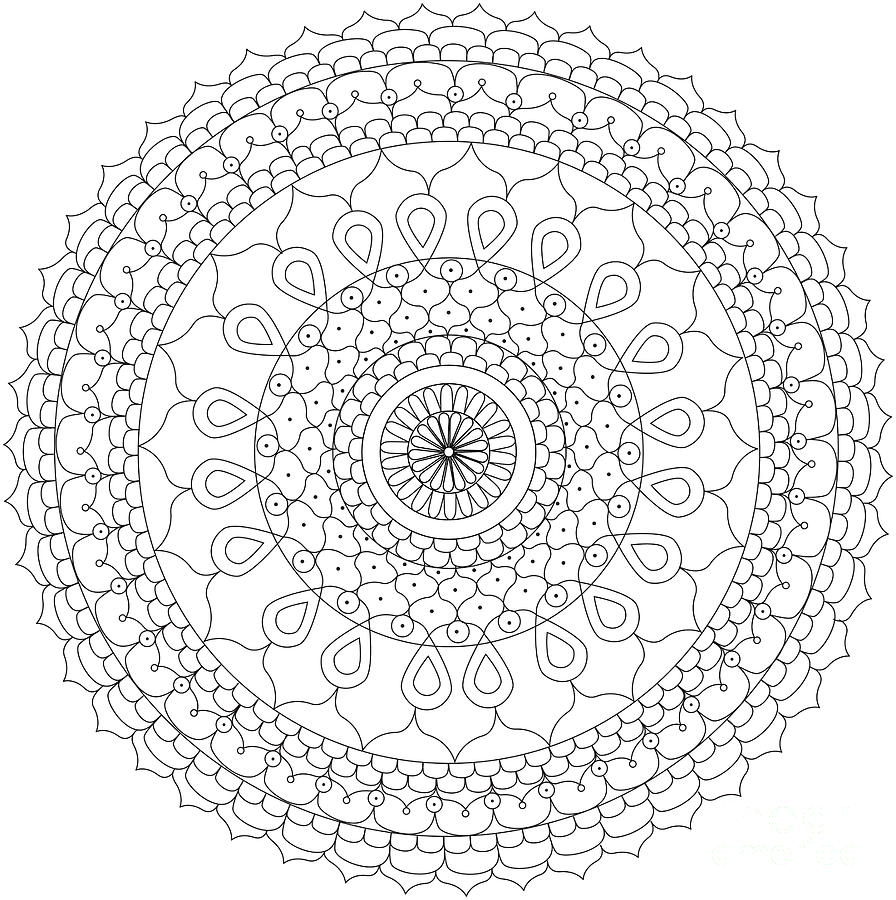 896x900 Mindful Mandalas Juste Etre Just Be