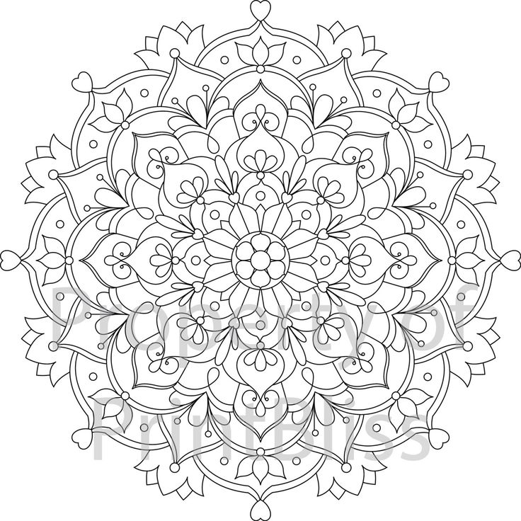 Mandala Drawing Printable At Getdrawings Com Free For