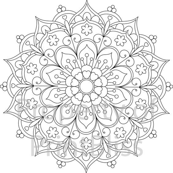 564x564 The Best Mandala Printable Ideas On Mandala