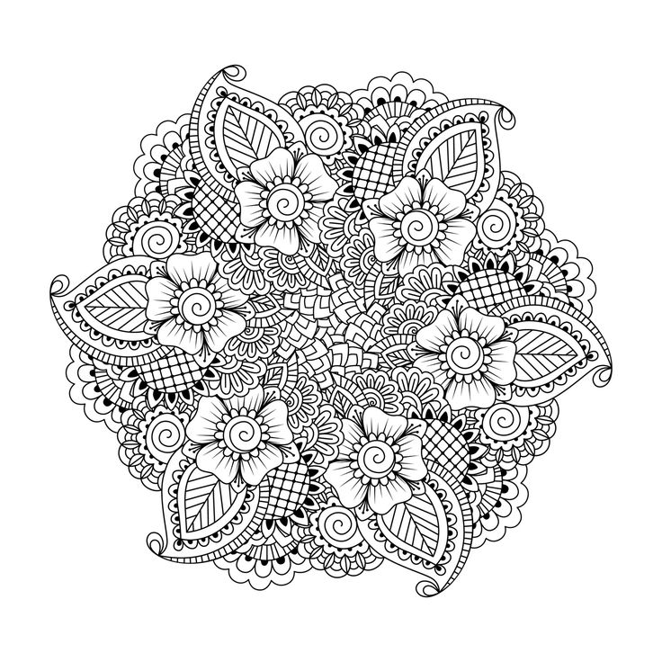 736x736 Mandala Coloring Pages Adults Best 25 Mandala Coloring Pages Ideas