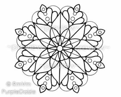 400x320 Mandala Color Page Coloring Page Printable Mandala Large Jpeg