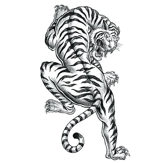 550x550 Tattoo Coloring Pages Together With Tiger Page