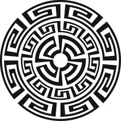 236x236 Greek Mandala Tattoo Greek Sun Digital Art Tattoo Art