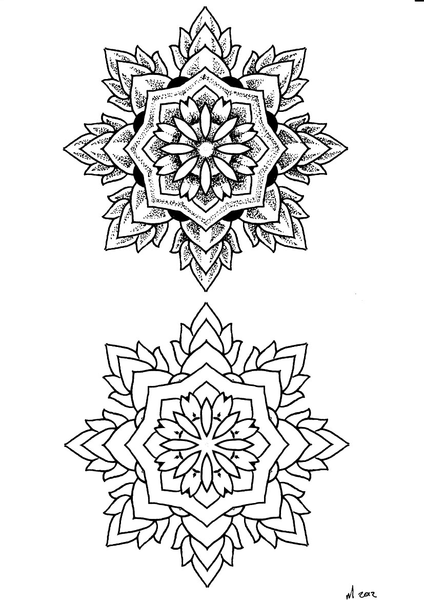 Mandala Tattoo Drawing At Getdrawings Com Free For Personal Use