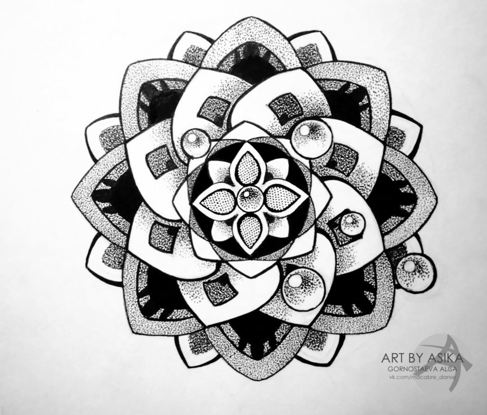 968x825 Dotwork Tattoos Page 59 Mandalas, Adult Coloring Pages