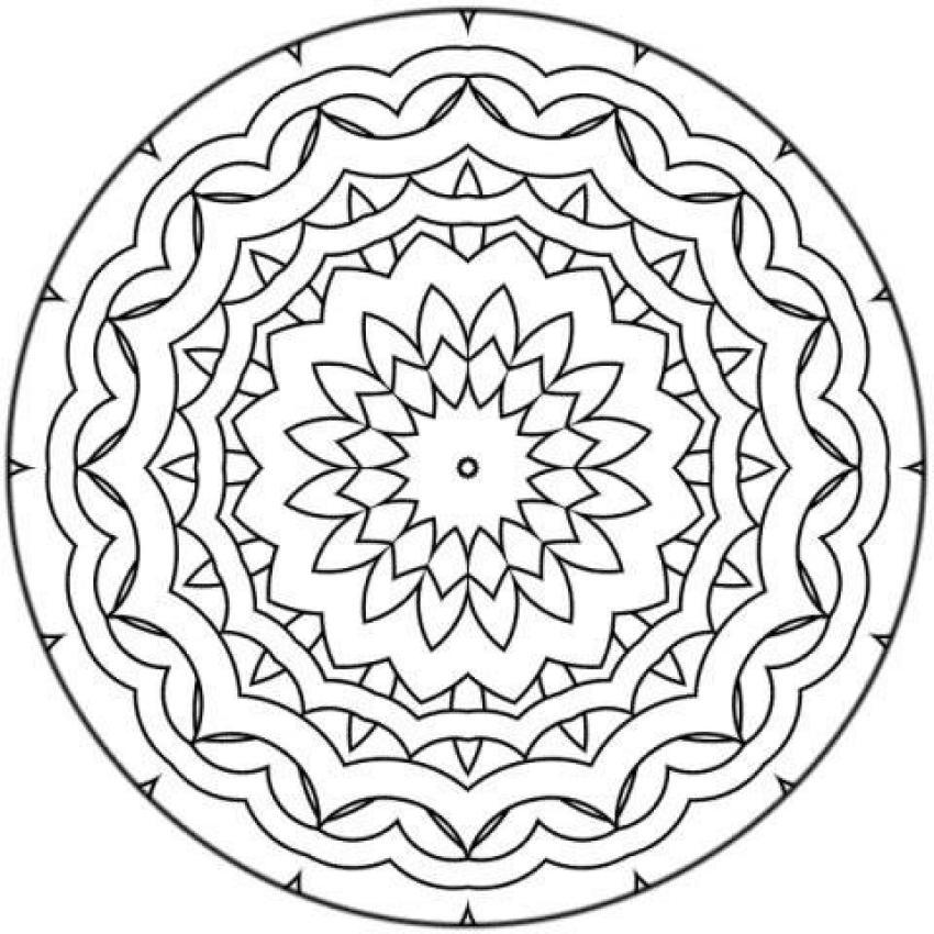 Mandala Tattoo Drawing At Getdrawings Com Free For