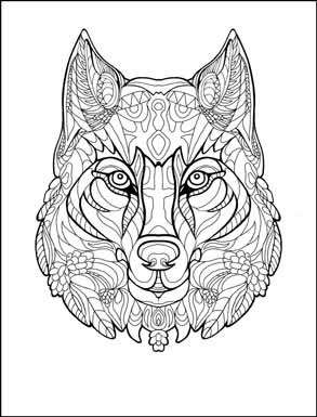 293x385 Animals Coloring Book For Adults By Amanda Neel Animal