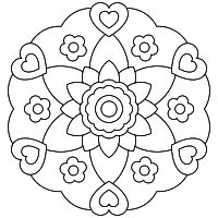 Mandalas Online Drawing