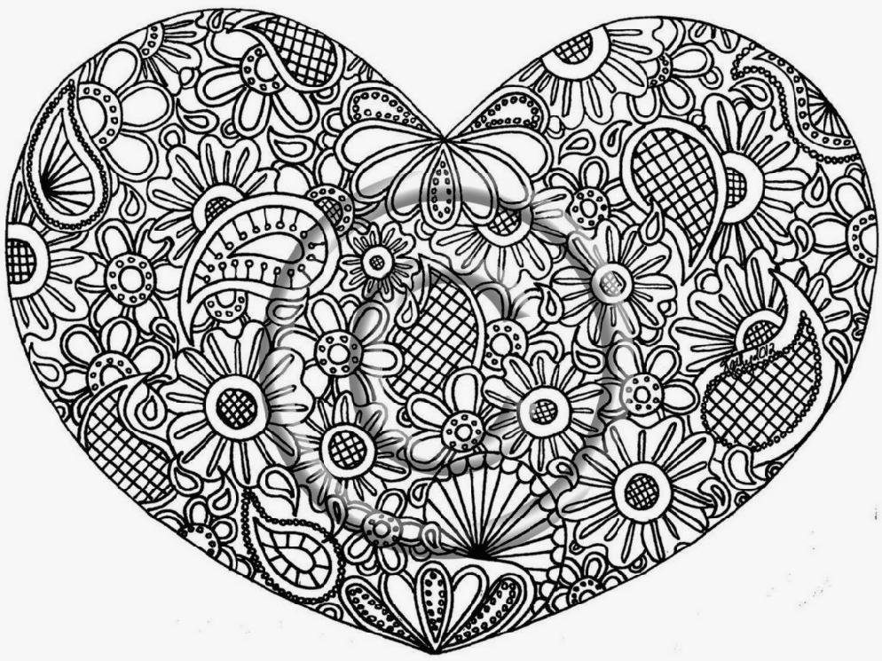 994x745 Free Online Mandala Coloring Pages Page For Kids