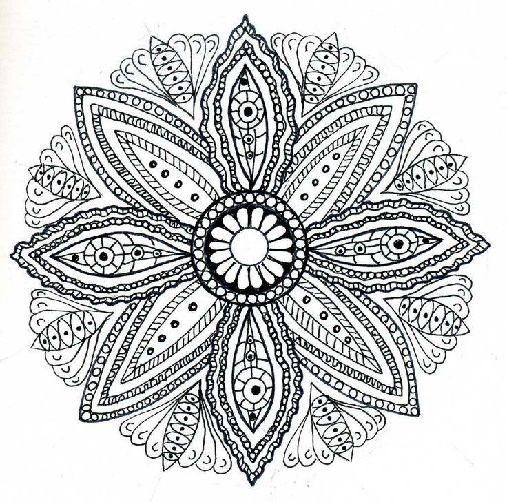 736x729 Free Mandala Drawing Mandalas Join My Grown Up Coloring Group