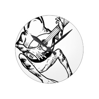 324x324 Frogs Playing Music Home Decor Amp Pets Products Zazzle