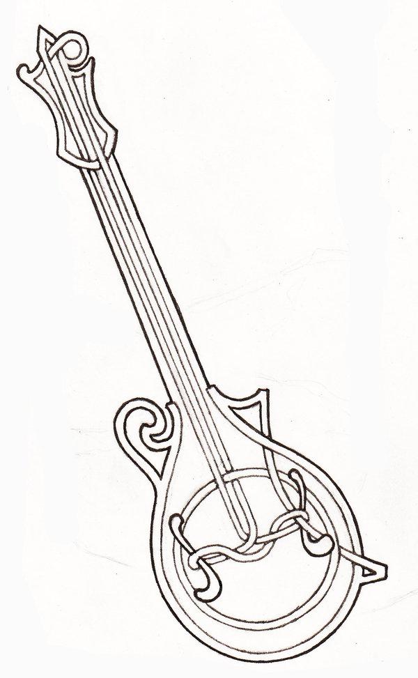 600x973 Knotted Mandolin By ~laughingastarael On Mandolinas