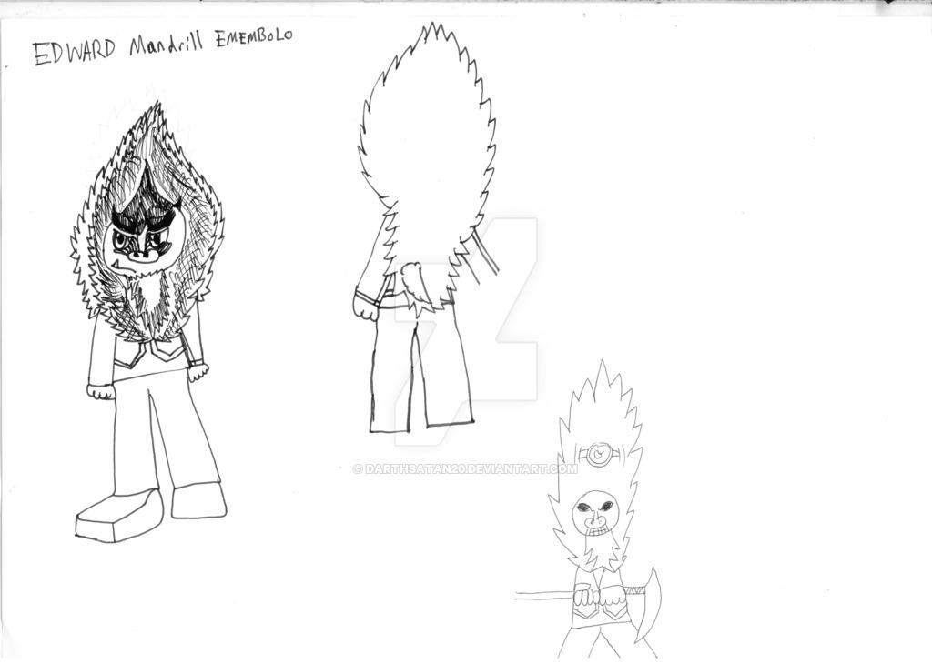 1024x730 Edward Emebolo The Mandrill Archrival Concept Art By Darthsatan20