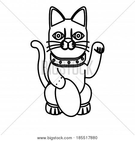 450x470 Maneki Neko Images, Illustrations, Vectors
