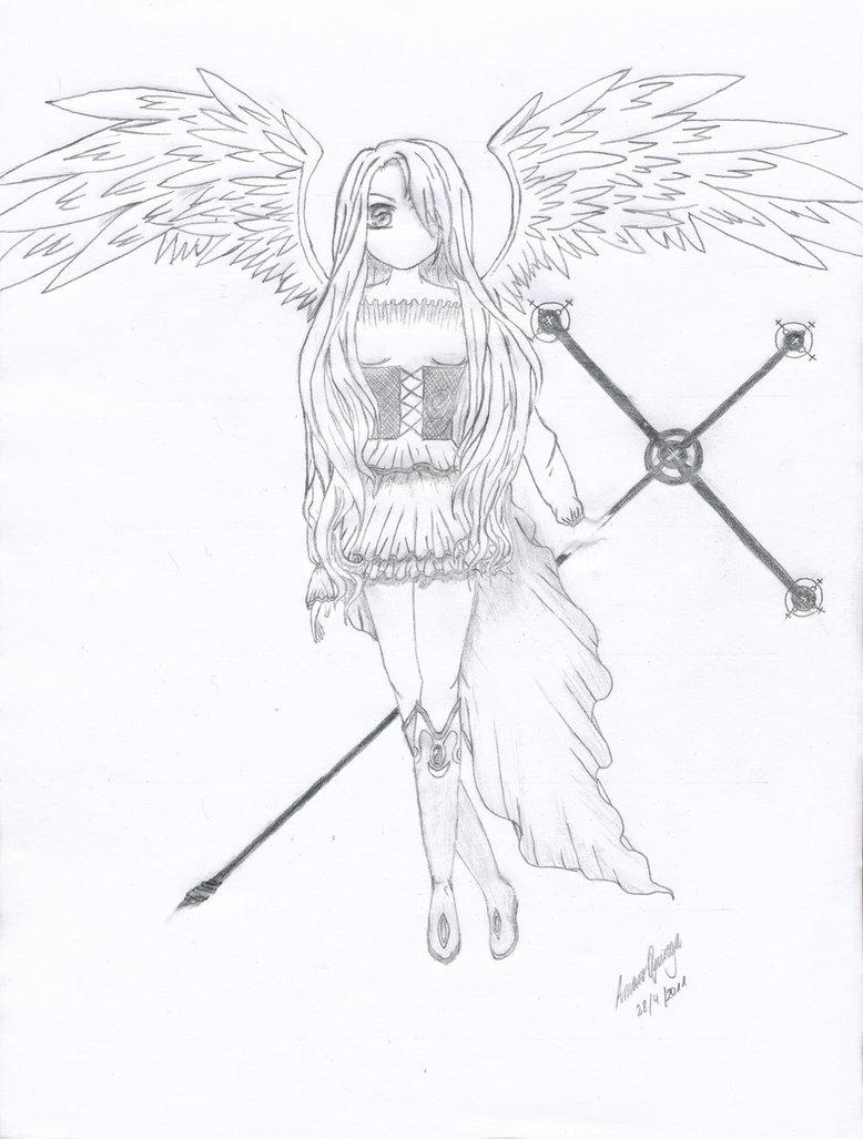 778x1027 Anime Angel By Asmaro11