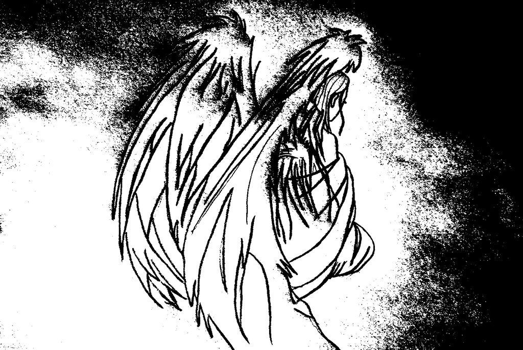 1024x686 Anime Cute Angel Manga Style By Miriam77cissy