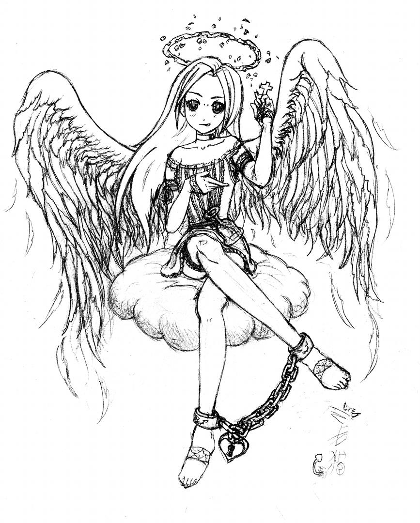 867x1080 Fallen Angel By Barfhappy