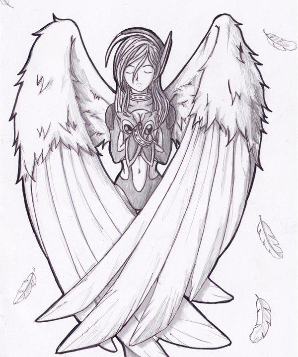600x720 Angel By Doni Eka