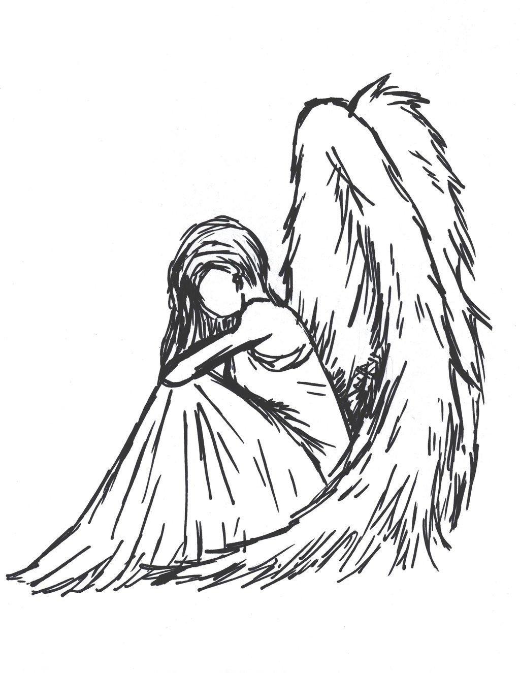 1024x1325 Sad Angel By Sioban Mckey