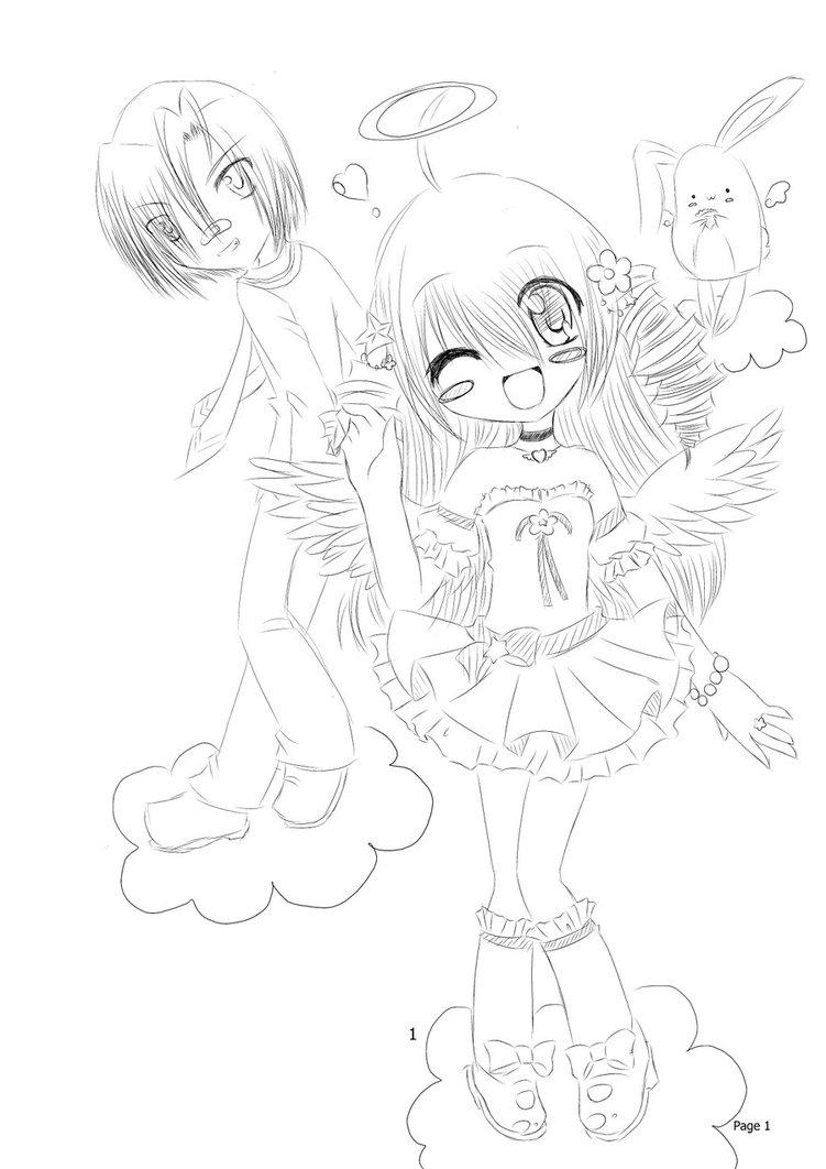 751x1062 The Good Angel Not My Manga By Mahouusagi