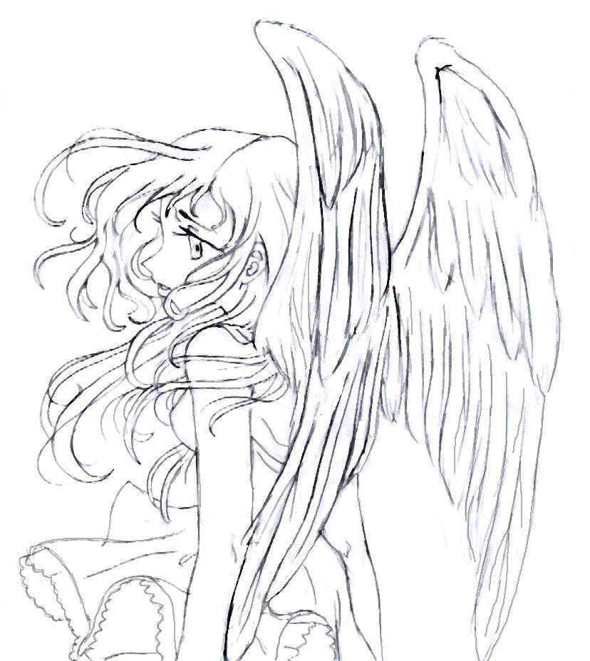 828x928 Angel Manga Type By Blackby