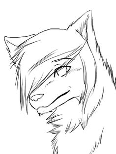 236x314 Easy To Draw Anime Wolf