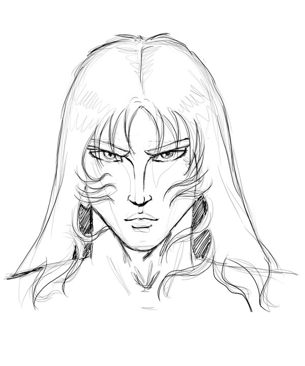 600x720 Manga male face sketch by Acturus1 on DeviantArt