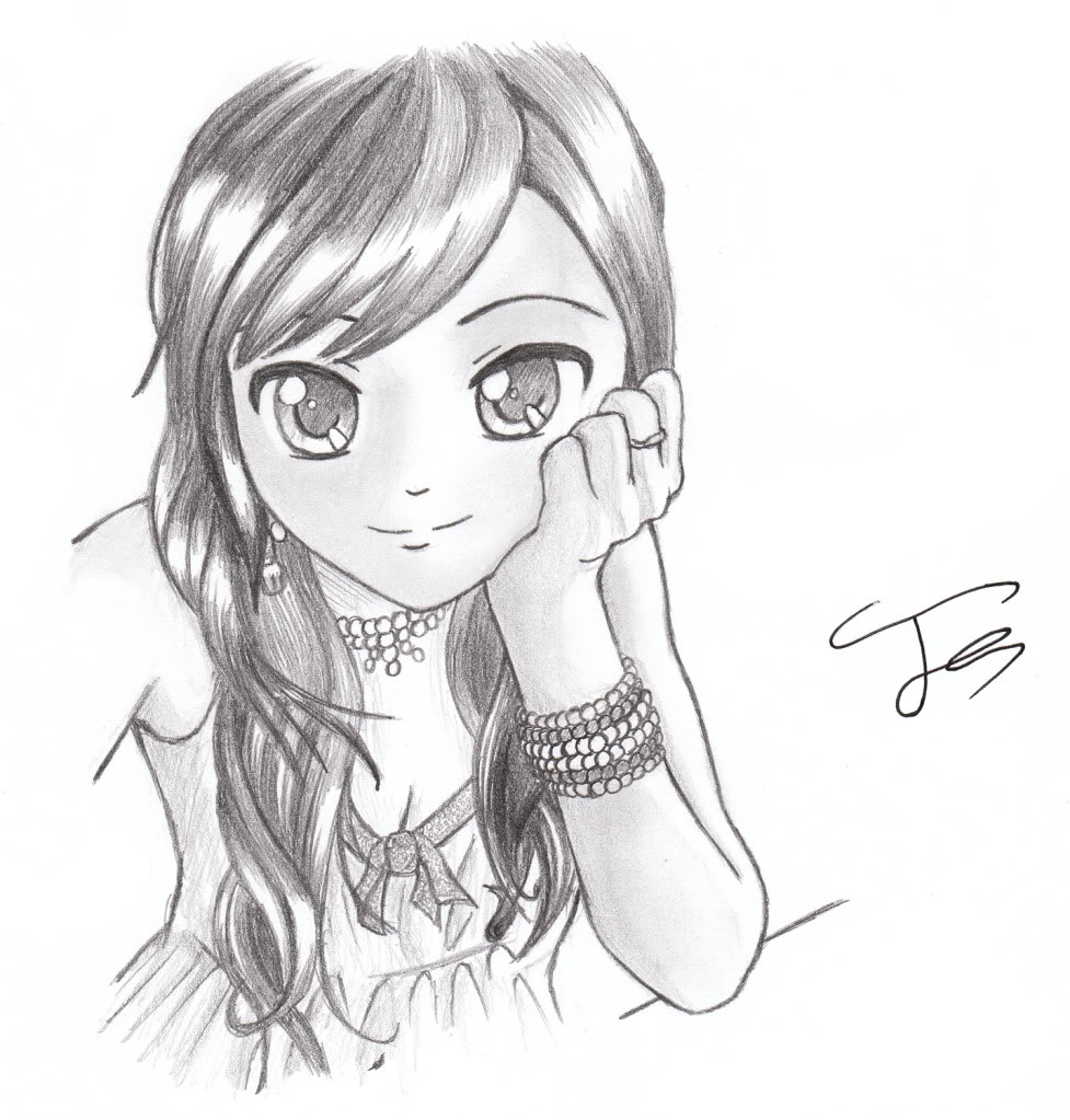 977x1023 25 Beautiful Manga Drawings for your inspiration