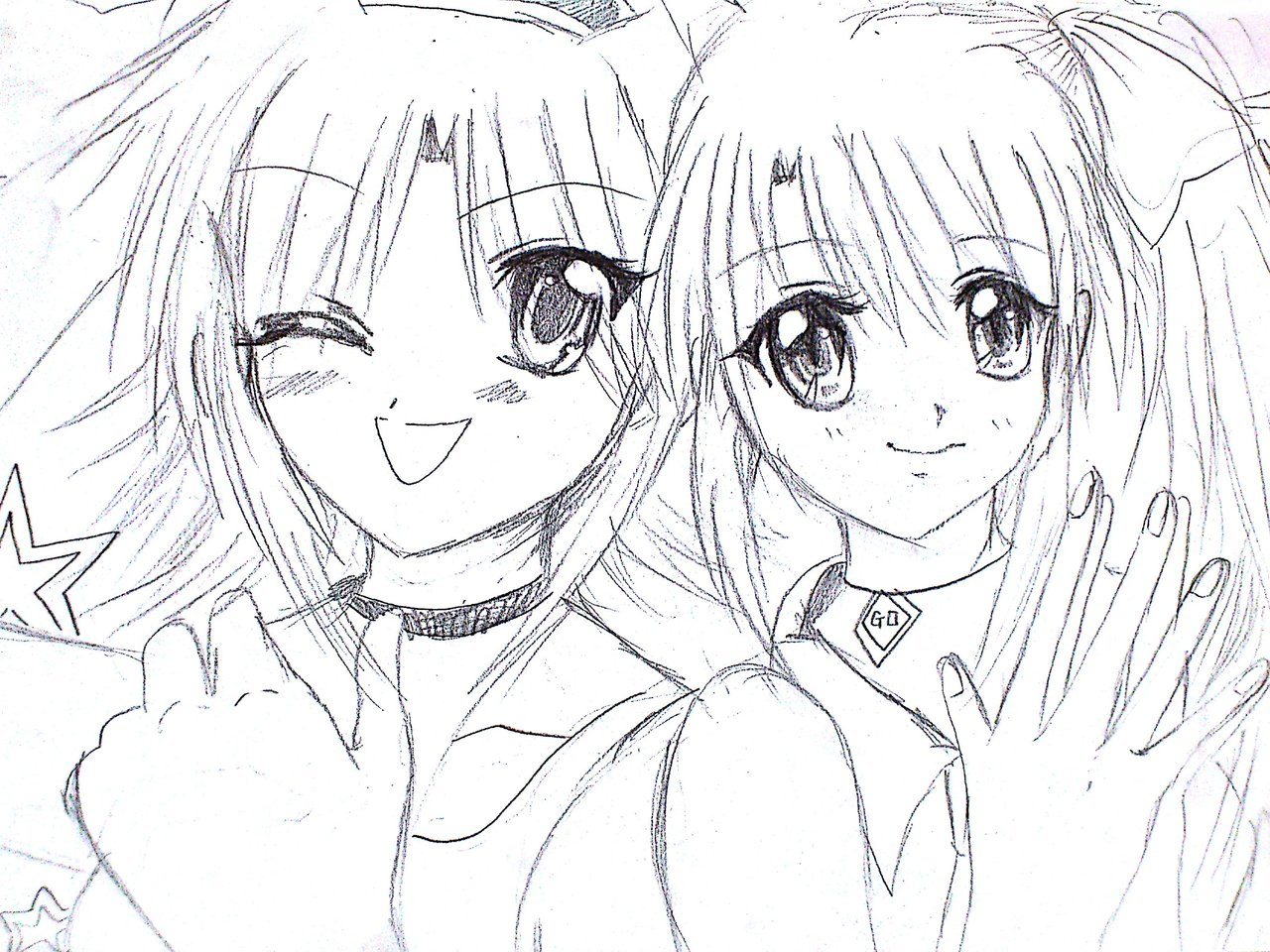 1280x960 Anime Drawing Coloring Pages Discuss Anime, Manga, Video Games and