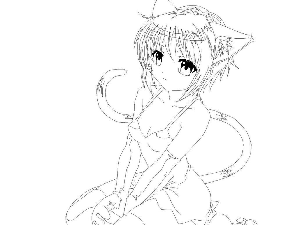 1032x774 Manga Cat Girl 2 By Mor4674j