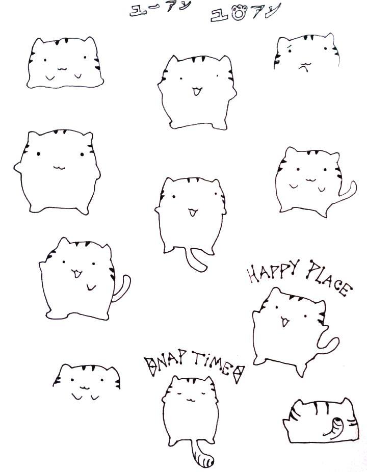 720x926 Chubby Cat by Nagareboshi71 on DeviantArt