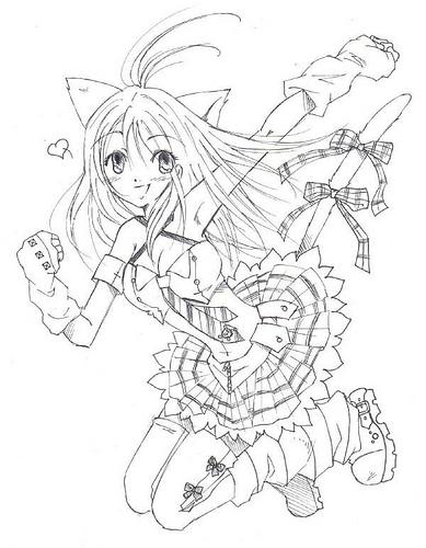 389x500 Manga Cat Girl Like,repin,share, Thanks! Funny Stuff