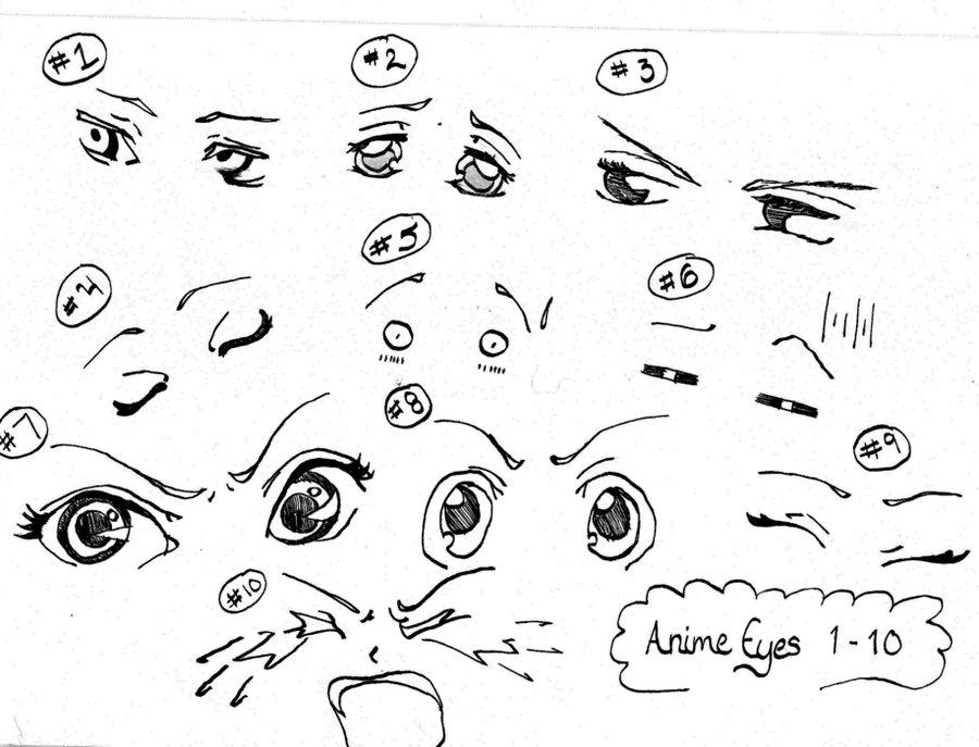 900x687 Animemanga Eyes Reference 1 10 By Inlovewithyaoi