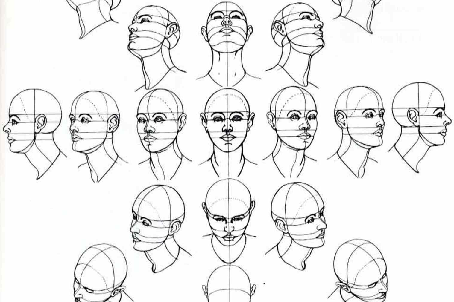 1517x1011 Easy Manga Face Drawing Anime And Body Of Sketch How To Draw