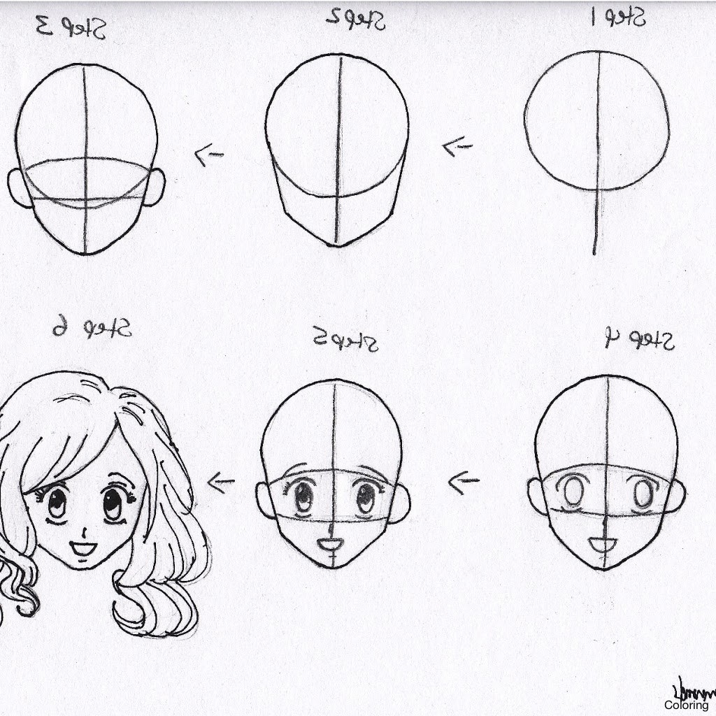 1024x1024 How To Draw Manga Male Eyes Step By For Beginners Eye Anime