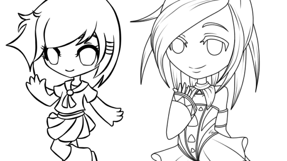 570x320 Manga Step By Step Drawing How To Draw Chibi Manga, Step By Step