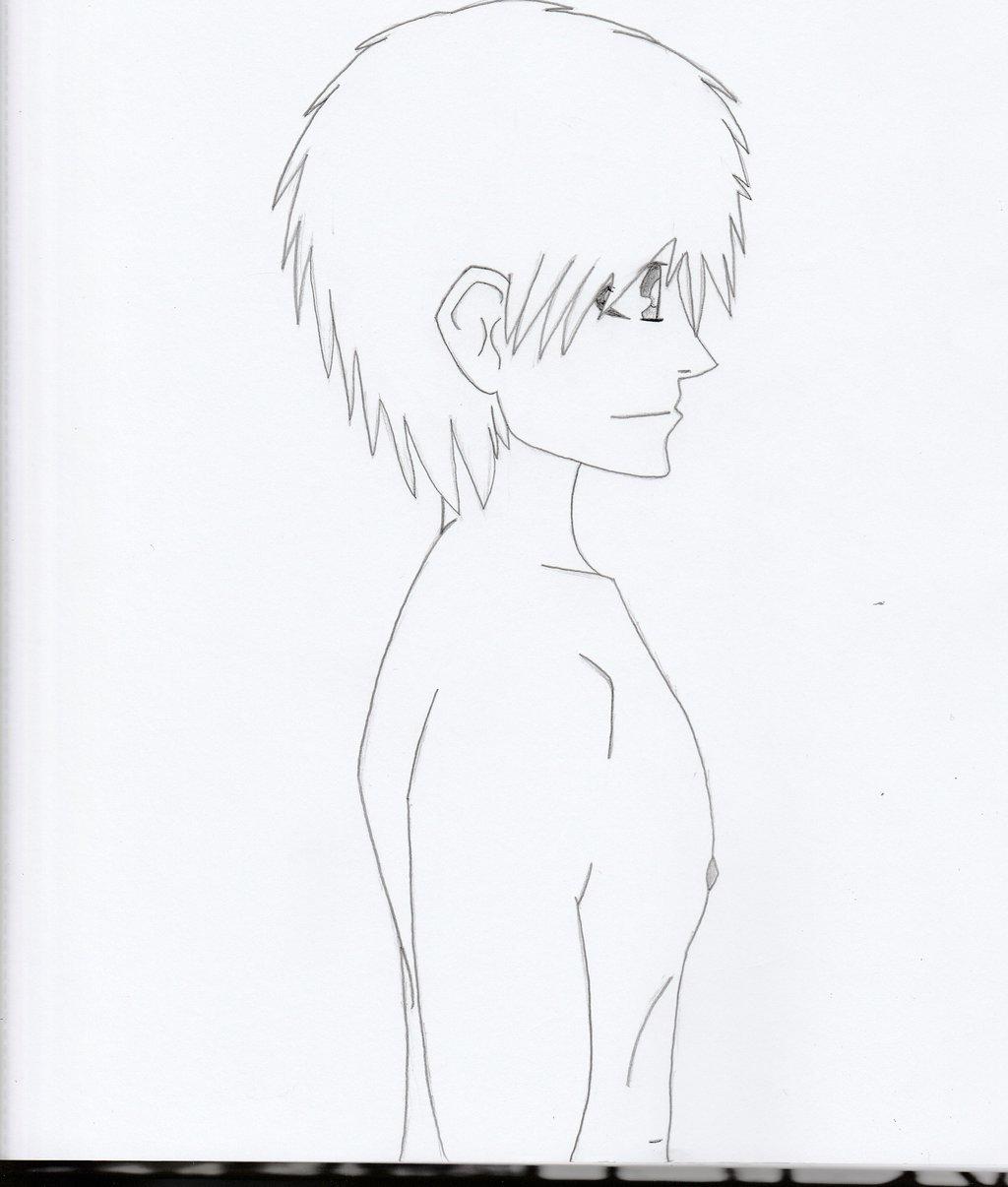 1024x1206 Shirtless Guy (Profile Side View) By Brockollijeffarez