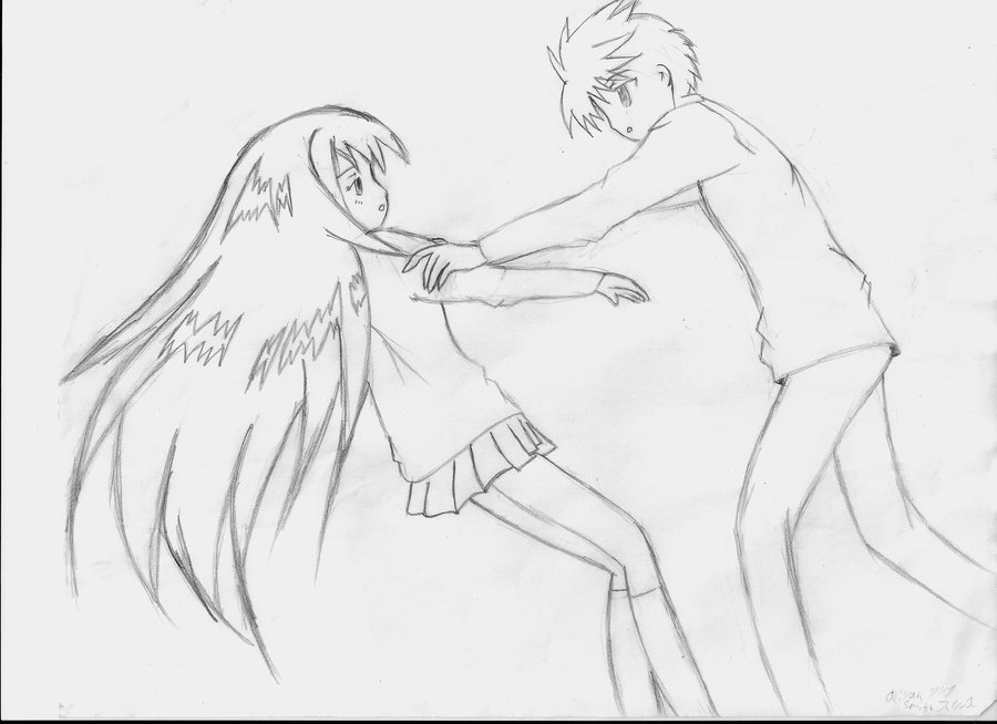 900x654 Manga Girl And Guy By Fmayaoifangirl