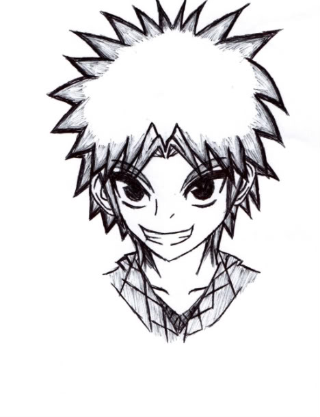 468x610 Cool Manga Guy By Xeno099
