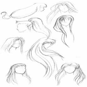 277x277 How To Create The Hair Of Your Manga Mangastringz
