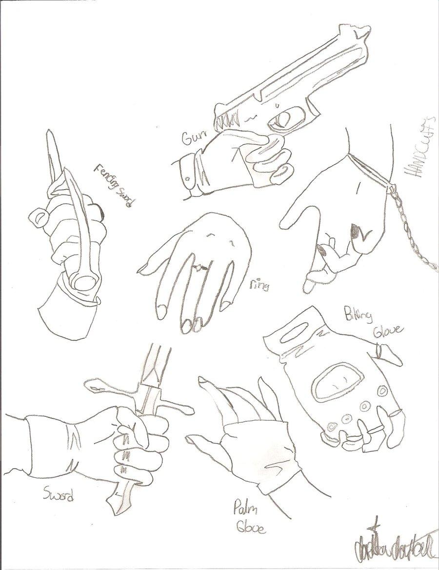 900x1169 Manga Anime Hand Study By Ghost Zero