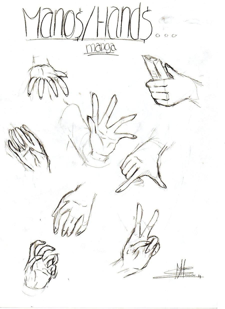 900x1238 Manga Hands By Neywa