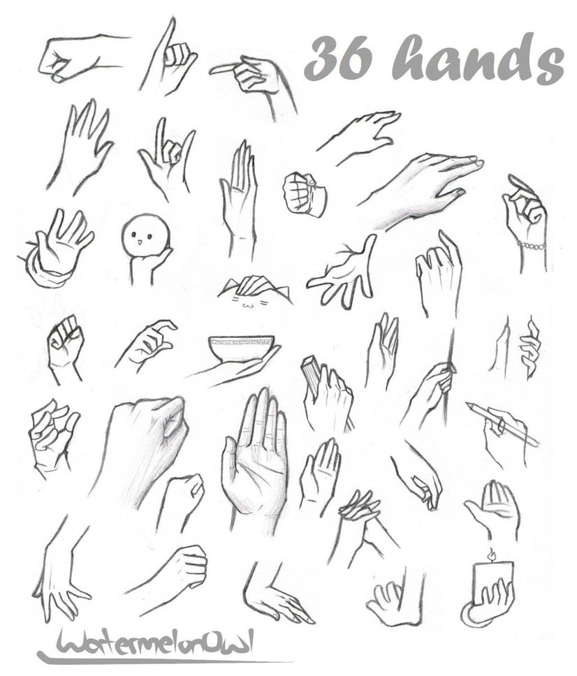 826x968 Anime Drawing Hands How To Draw Hands