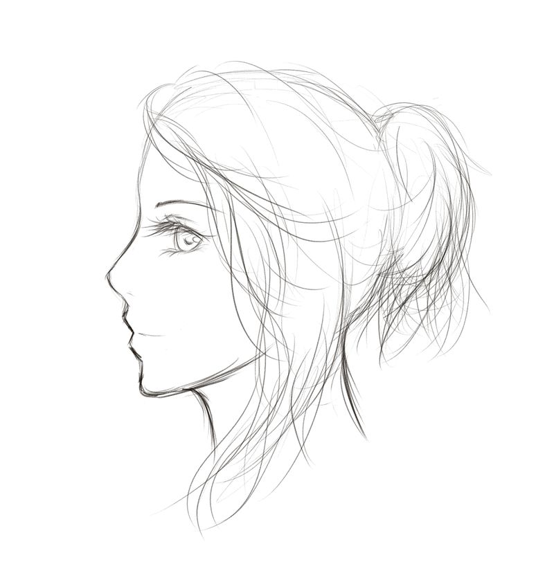 800x812 Drawing How To Draw Faces From The Side Also How To Draw Manga