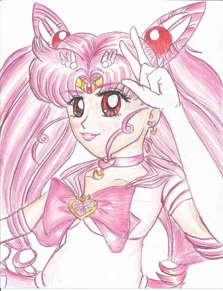782x1022 Sailor Chibi Moon (Manga Style) By Chibirainbowstarr
