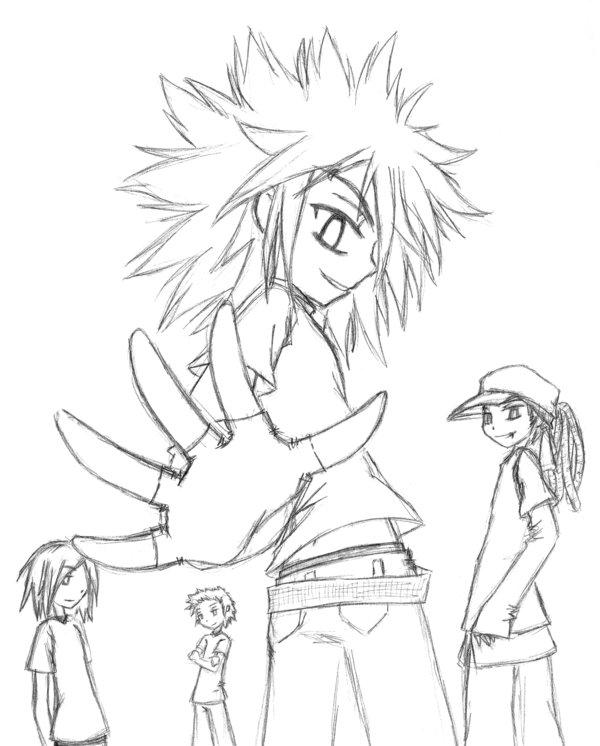 600x746 Tokio Hotel Manga Style By Xxtokio13hotelxx