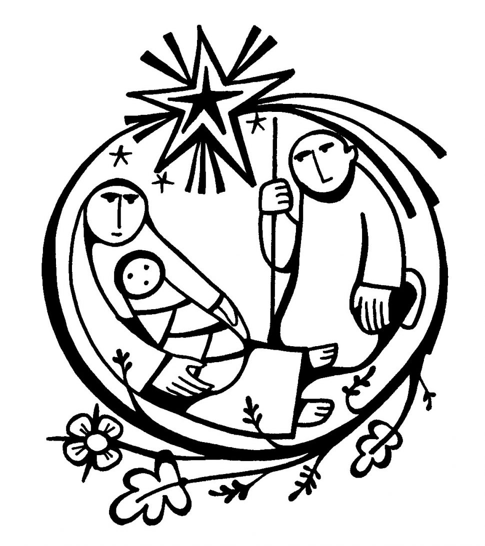 970x1093 Coloring Outstanding Baby Jesus Nativity Coloring Pages